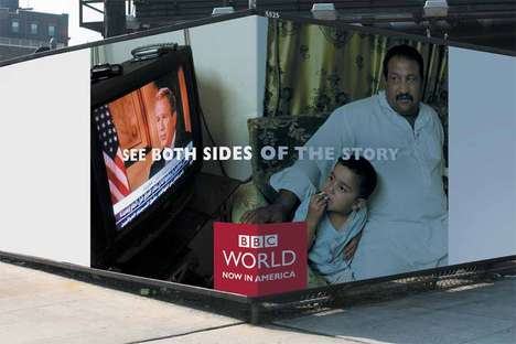 Cornervertising - BBC Ads Show Both Sides of the Story