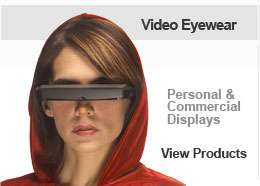 DV920 Video Eyewear - A Movie Theater in Your Glasses