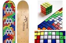 Invader x Mekanism Skateboards