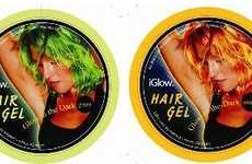 Chemo-Luminescent Hair Gel