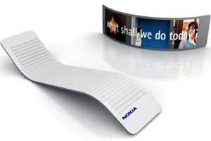 Flexible Phones - Nokia 888 Communicator Concept