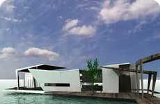 New Design For Huts on the Water
