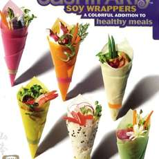 Anti-Obesity Alternatives - Soy Wrappers for Healthy Sandwiches