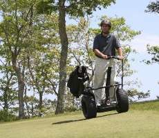 Miniature Golf Carts - Two Wheeled Segways Are the New Four Wheeled Carts