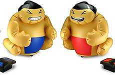 Remote Control Battling Sumo Wrestlers