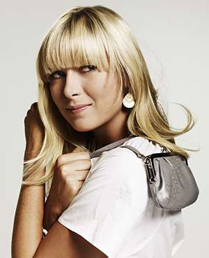 Tennis-Inspired Accessories - Maria Sharapova for Sony Ericsson