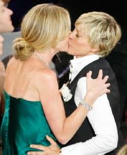Celebrity Gay Marriage - Ellen DeGeneres and Portia de Rossi Plan Dream Wedding