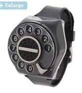 Rotary Phone Watches - The Zihotch Retro Phone Watch