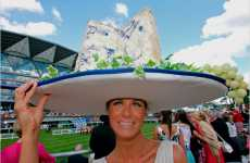 Outrageous Spectator Hats - The Royal Ascot Ladies Horse Racing Hats