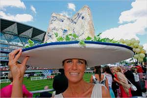 The Royal Ascot Ladies Horse Racing Hats