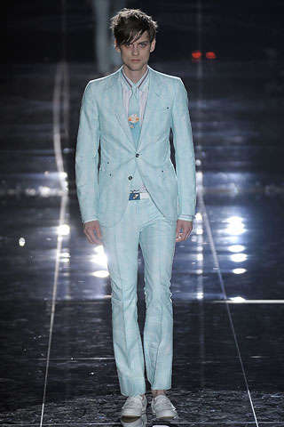 Male Florals and Shades of Blue