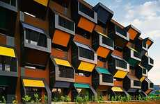 Beehive Architecture - Honeycomb Housing Complex