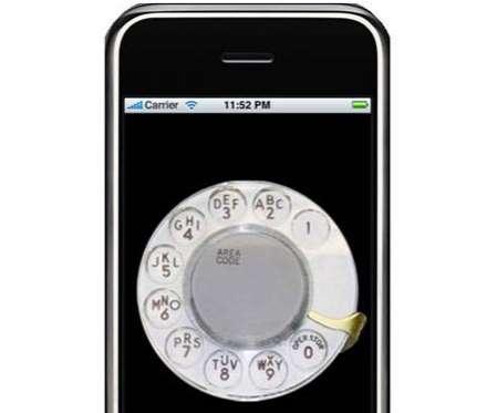 Rotary Phone iPhone App - The iRetroPhone