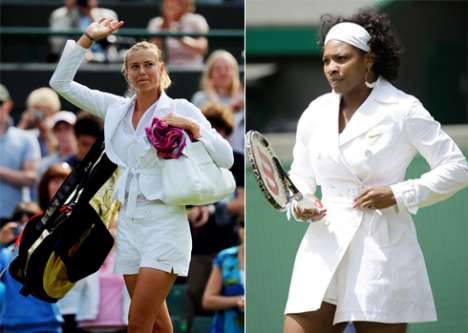 Best of Wimbledon Fashion - Sharapova, Federer, Williams & Ivanovic