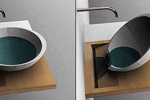 Plugless Sink