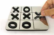 Optical Illusion Tic-Tac-Toe