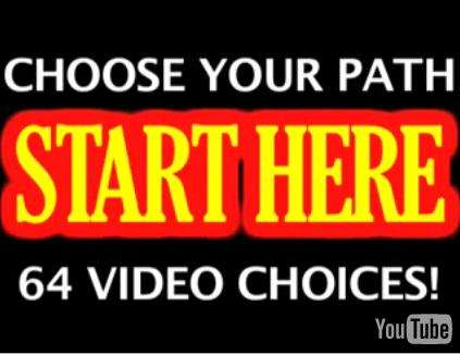 Choose Your Own Video Adventure - Choose Your Path