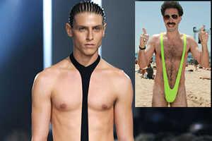 Alexander McQueen's Borat Inspiration