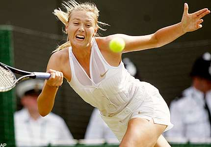 The Curse of The Tuxedo - Maria Sharapova's Outfit Instigated Opponent, Led to Defeat