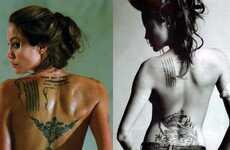 Blending Fake and Real Tattoos