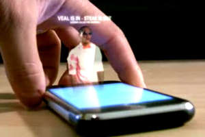 Viral Video Previews HoloText iPhone Concept