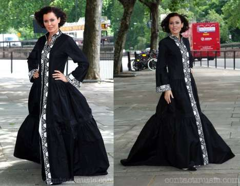 Islamic Red Carpet Fashion - World's Most Expensive Abaya Costs $350,000
