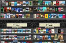Virtual Book Shelves For Real Shopping