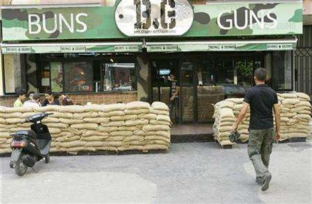 "War-Themed Restaurants - ""Buns and Guns"" in Beirut"
