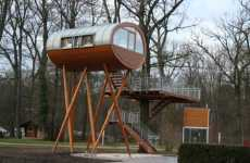 Custom Adult Tree Houses - Baumraum Architects