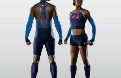 Team America Olympic Uniforms - Nike Swift Suits