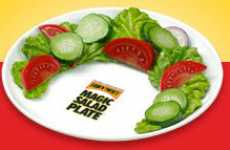 Meat Camouflages - The Magic Salad Plate