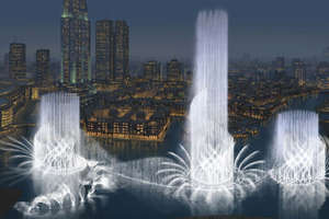 Dubai To Blow Water into the Desert Air