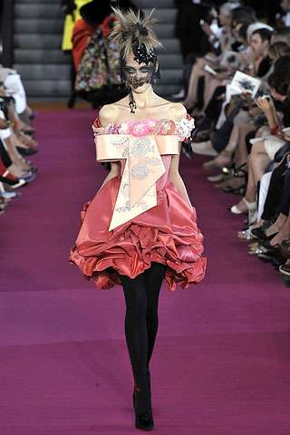 Gothic Beautiful Couture - Christian Lacroix Fall 2008