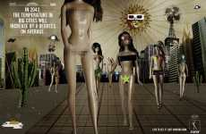 Futuristic Anti-Smoking Ads - Live to See Naked Chicks & Bin Laden Caught