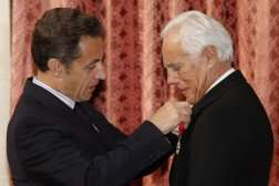 Giorgio Armani Receives French 'Legion of Honor'
