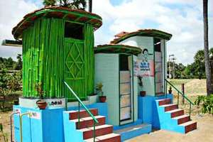 EcoSan Toilets in Musiri