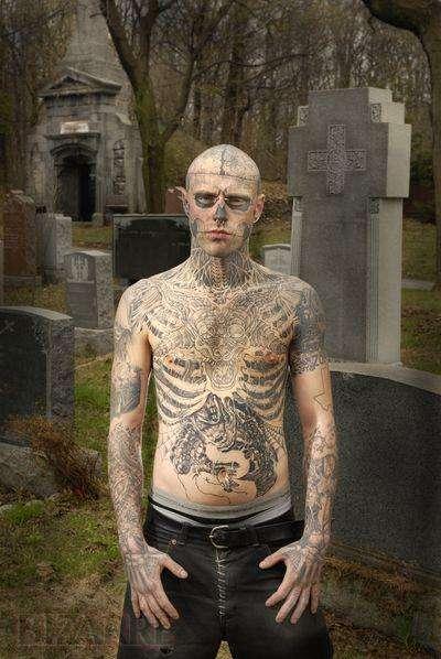 zombie tattoo. Full-Body Zombie Tattoos
