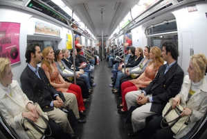 Improv Everywhere Puts 16 Twins on Subway