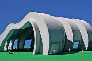 The Solar Wave Pavilion by Michael Jantzen