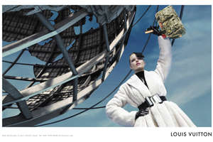 Louis Vuitton Ads Shot at Queens Unisphere