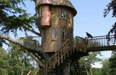 Real Fairytale Houses in Trees - Amazon Treehouses