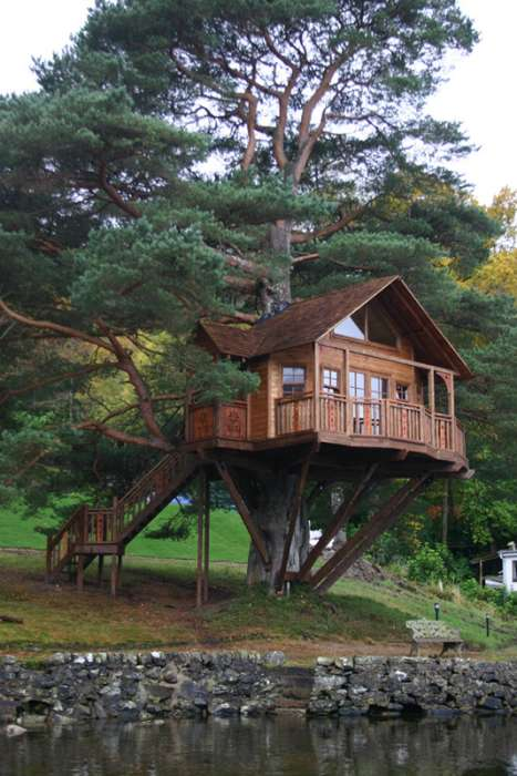 Real Fairytale Houses in Trees