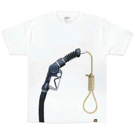 Fashion Statement Against Oil Prices - Alphanumeric Gassed Tee
