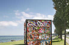 Compressed Park Installations - James Dive Compresses an Entire Amusement Fair into a Box