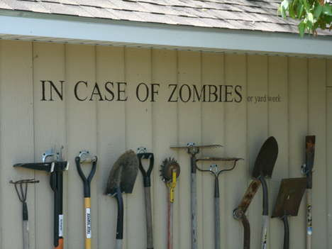 Zombie Survival Tool Sheds - Zombie Survival is Easier Thanks to This Convenient DIY Project (TrendHunter.com)