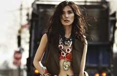 Wacky Tribal-Inspired Fashion