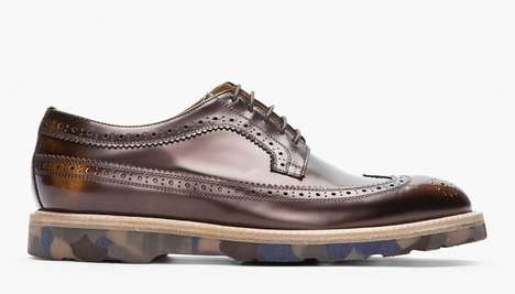 Paul Smith Metallic Longwing Brogues