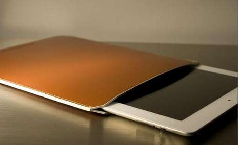 Thin Leather iPad Case