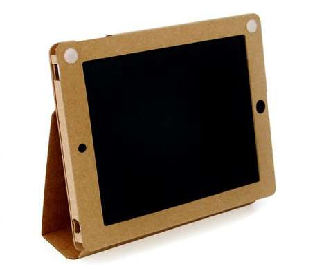 Recyclable Tablet Sheaths - The Clean iPad Case by Guided Products is Made from 100% Paper
