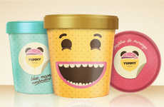 23 Ice Cream Branding Techniques - From Interactive Ice Cream Musicals to Cute Condiment Cartons